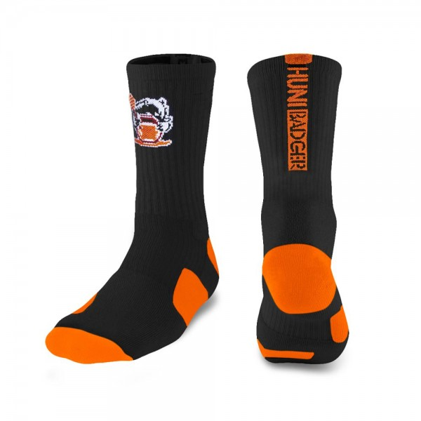 Huni Badger Cotton Crew Socks
