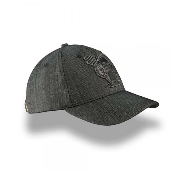 Huni Badger Charcoal Grey Dad Hat