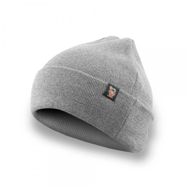 Huni Badger Grey Beanie
