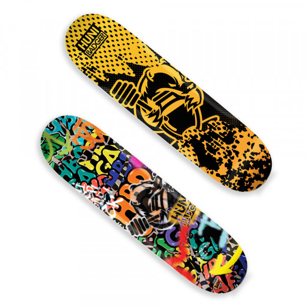Huni Badger Skateboard Deck