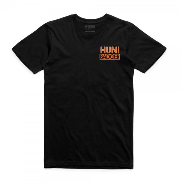Huni Badger Team Tee - Black