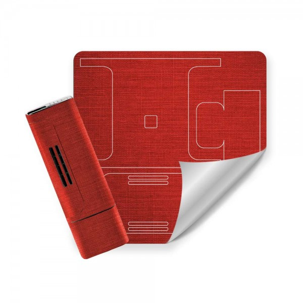 Embossed 3M® Red Canvas Wrap